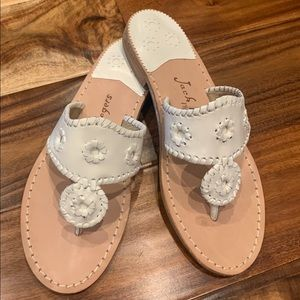 BRAND NEW Jack Rogers White Sandals Size 8.5